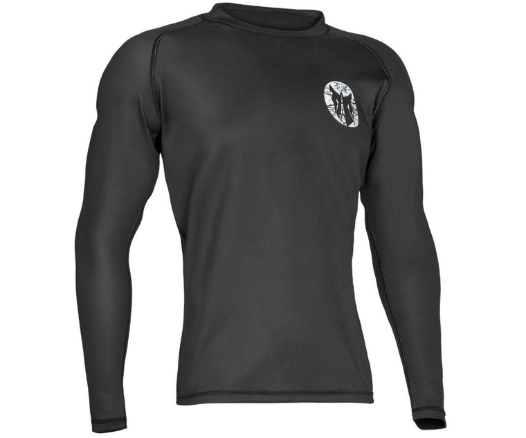 Fumetsu Charge Rash Guard Black