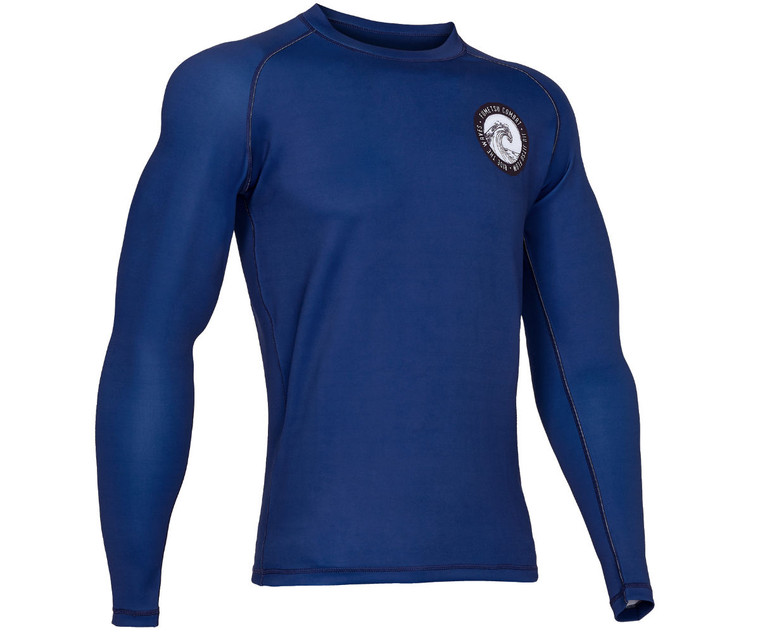 Fumetsu Waves Rash Guard Blue