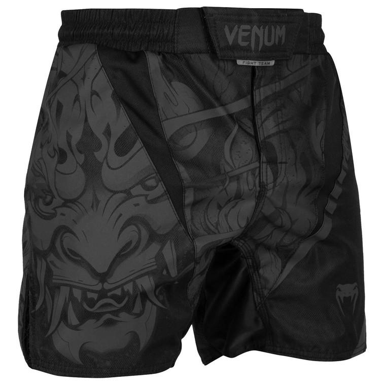 Venum Devil Fight Shorts Black Black