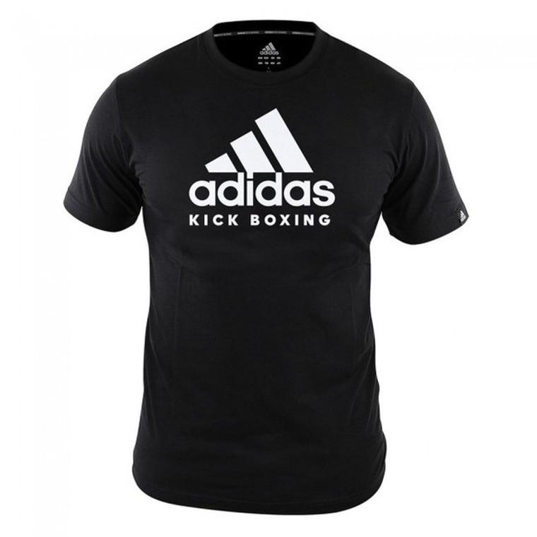 Adidas Black Kickboxing T Shirt