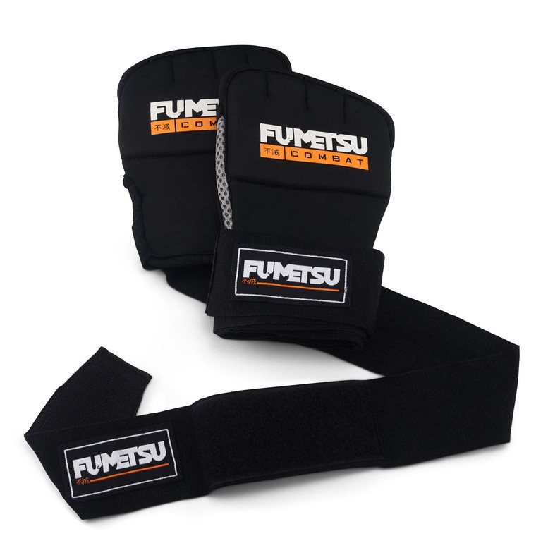 Fumetsu Ghost Gel Hand Wraps Black