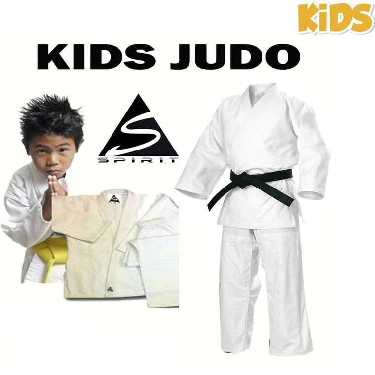 Shop Second Spirit Kids Traditional Judo wrap over student uniform