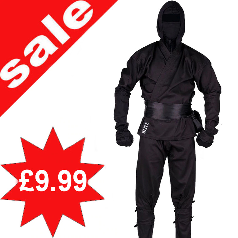 Shop Seconds Ninja Uniform