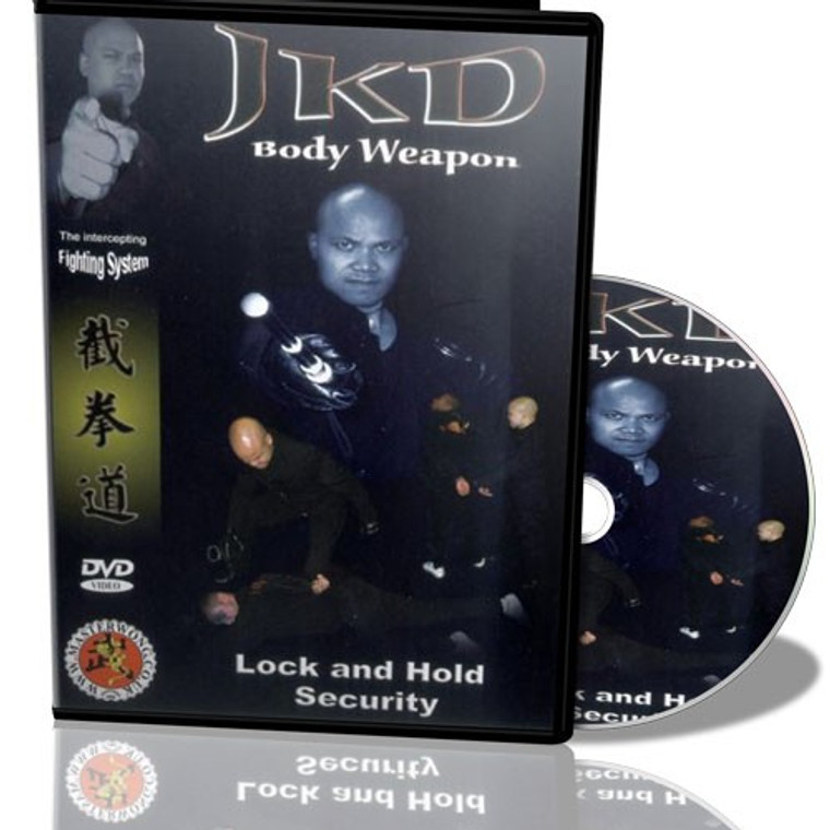 Master Wong JKD Lock And Hold Security DVD