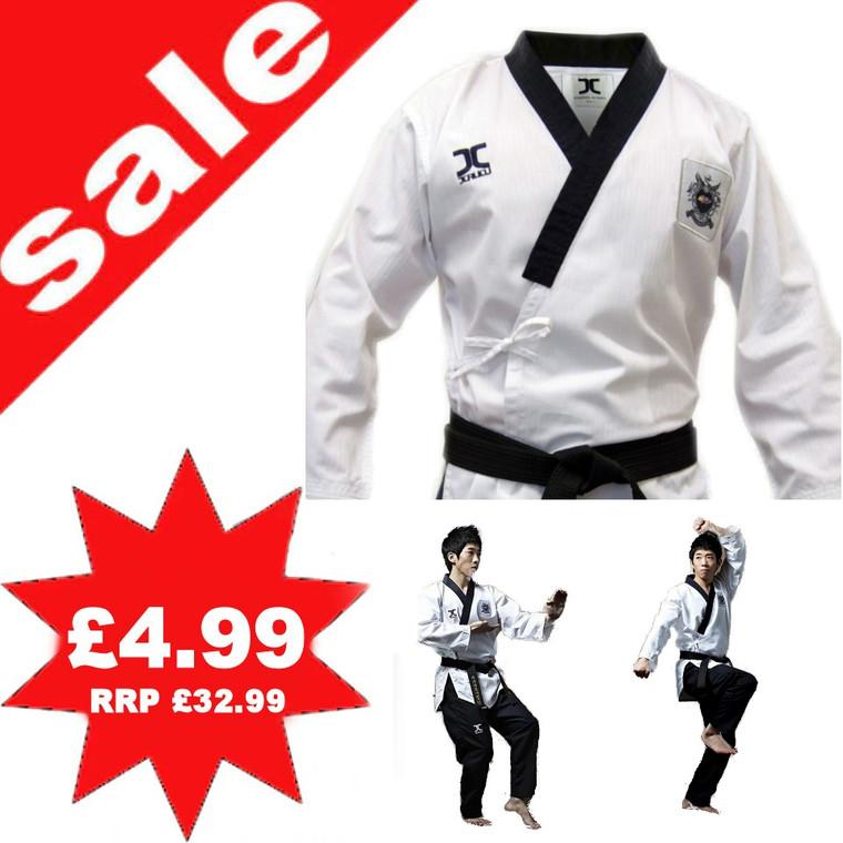 Jcalicu Wrap Over Taekwondo WTF Approved Uniform