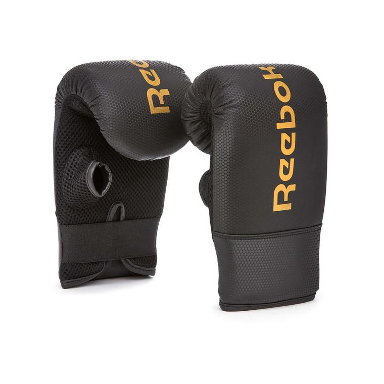 Reebok Bag Gloves Black Gold