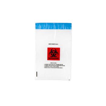 "4065   Medegen Medical Products, LLC.   MEDEGEN SPECIMEN TRANSPORT BAGS.   Transport Bag, 6"" x 10"", Permanent Adhesive Closure, Clear/ Black & Red, 2 mil, 100/pk, 10 pk/cs   (CS)"