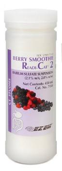 Bracco Diagnostics;   Smoothie Readi-Cat® 2 CT Oral Contrast Agent Barium Sulfate 2.1% Oral Suspension Bottle Berry Flavor 450 mL BARIUM, SMOOTHIE BERRY RC2 450ML (24/CS)