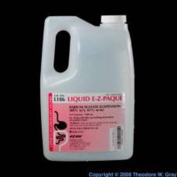 Bracco Diagnostics ;   Liquid E-Z PAQUE® Contrast Media Barium Sulfate 60% Unit Dose, Oral Suspension Bottle Fruit Flavor 355 mL BARIUM, LIQ 60% E-Z-PAQUE 12OZ(24/CS)