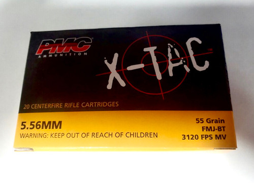 PMC 5.56 Ammo - 55 grain - FMJ
