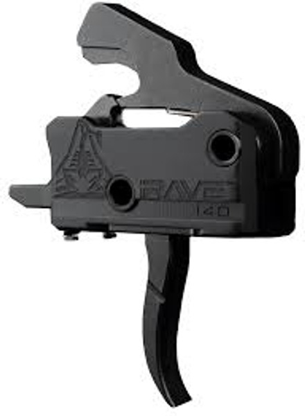 RAVE 140 Curved Drop-In Trigger with Anti-Walk Pins