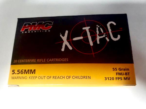 PMC 5.56 Ammo - 55 grain - FMJ