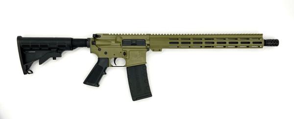 GLFA .223 WYLDE RIFLE - *CUSTOM* Bazooka Green/ Nitride