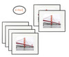16x20 Poster Frame,Aluminum Matte Black Photo Frame with Ivory Color Mat for 11x14 Picture & Real Glass (6pcs/box)