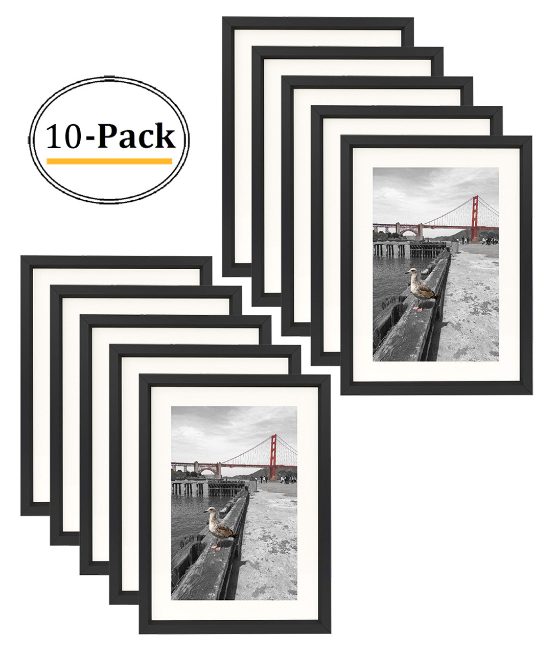 5x7 Table Top Metal Picture Frame Collection Aluminum Photo Frame