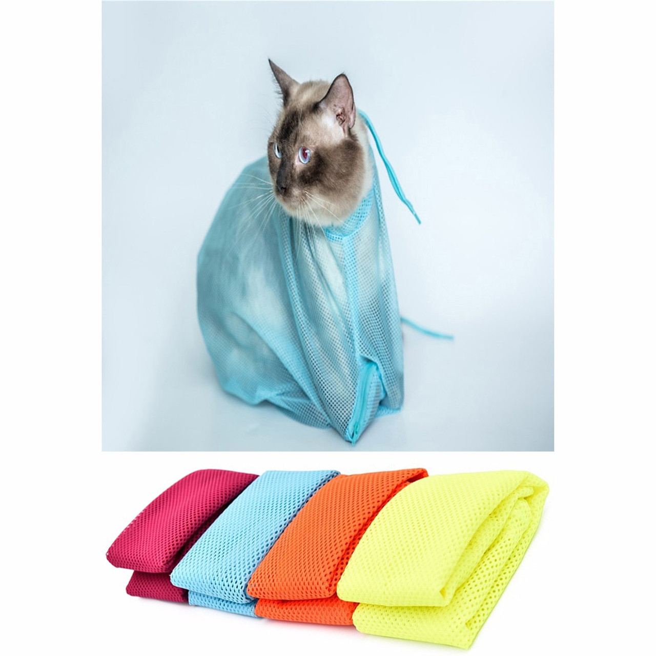 01751e51829 Cat Grooming Bags to protect from accidental scratches | Purrdy Paws