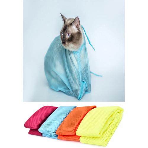 Mesh Cat Grooming Bag - Anti Scratch - Bite Restraint