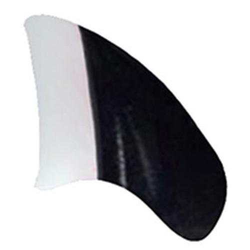 Purrdy Paws soft nail caps for cats and kittens in Two Toned Black & White