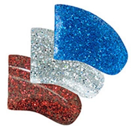Purrdy Paws soft nail caps for dogs and puppies in Combo - Glitter USA