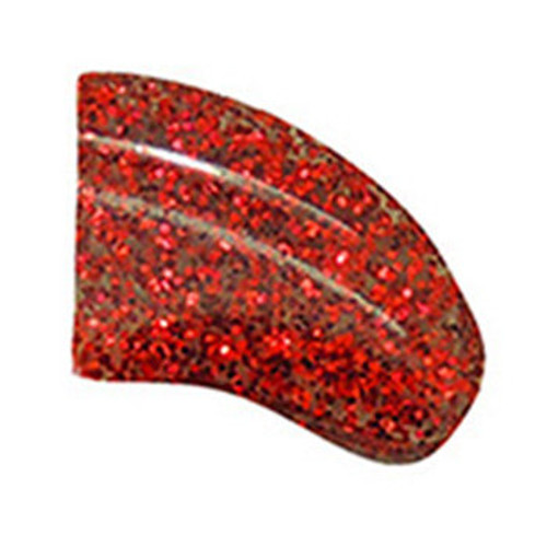 Purrdy Paws Dog and Puppy Nail Cap Covers in Ruby Red Glitter