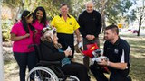 Community gives back to 89-year-old Braddon robbery victim
