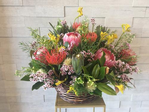 Native basket arrangement - FREE DELIVERY
