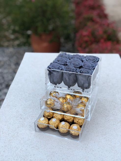 Luxury preserved roses - 9 roses - FREE DELIVERY