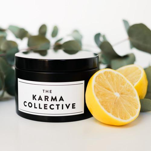 Eucalyptus & Lemon Candle Tin