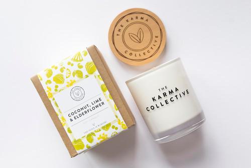 Coconut, Lime & Elderflower Candle