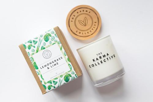 Lemongrass and Lime Candle
