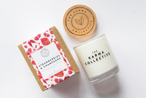 Strawberries & Champagne Candle