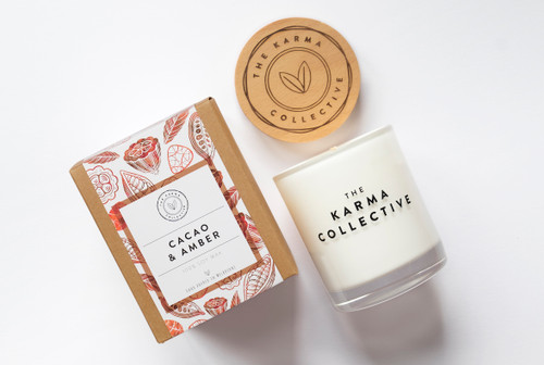 Cacao & Amber Candle