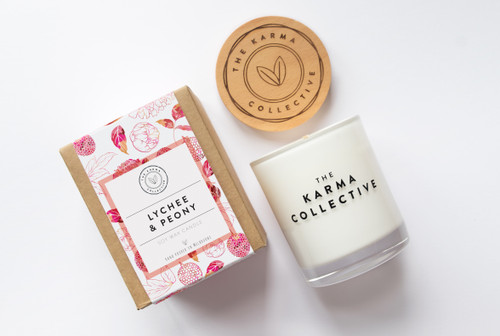 Lychee & Peony Candle