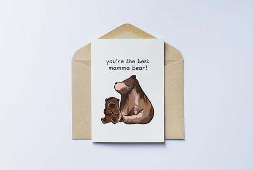 Mamma Bear Card