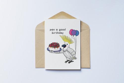 Pav a Good Birthday Card