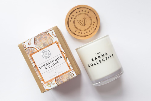 Sandalwood and Clove Candle