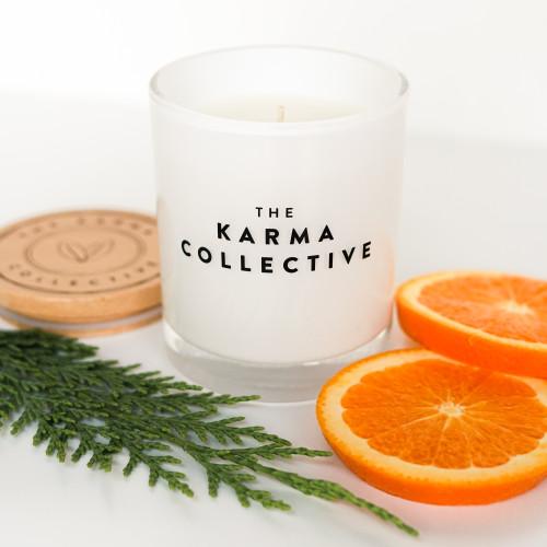 Spiced Orange & Cedarleaf Candle