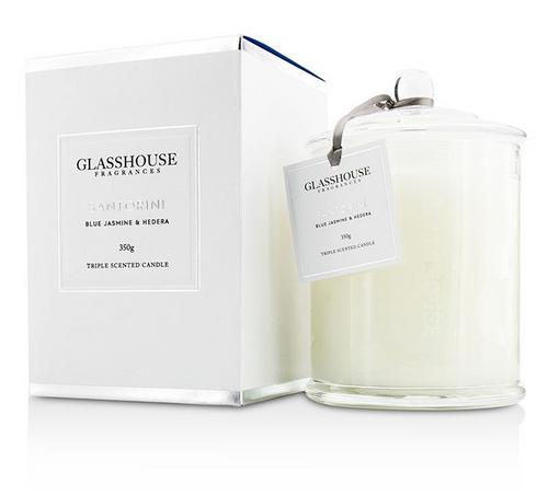 Glasshouse Candle - Santorini