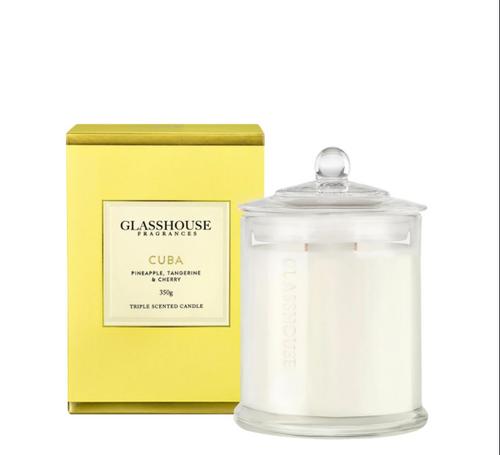 Glasshouse Candle - Cuba