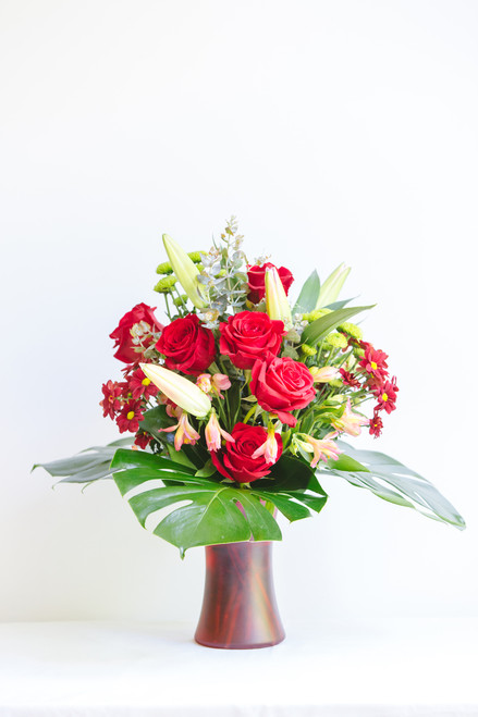 Mixed rose bunch - FREE DELIVERY