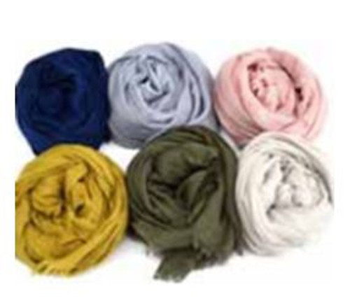 Single Colour Cotton Scarf