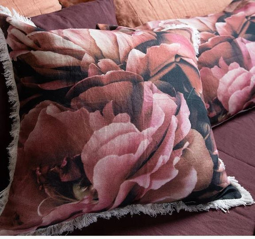 Petals Printed Euro Cushion