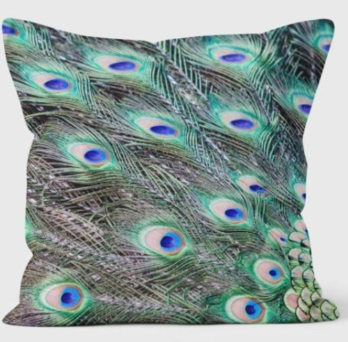 Ella Lancaster Peacock Cushion