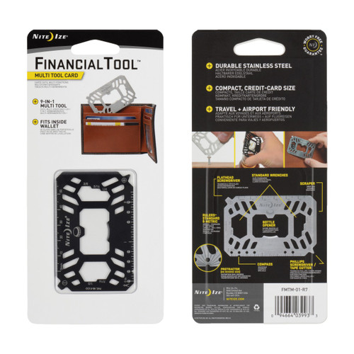 Financial Multi Tool Card