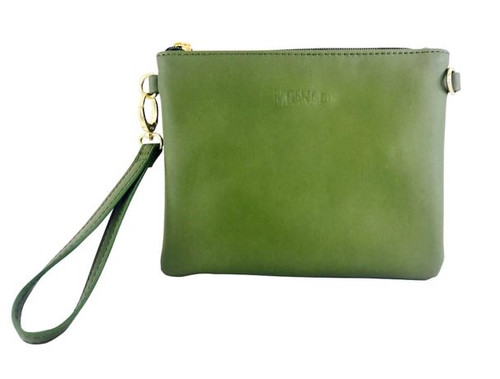 Viaduct Clutch Olive