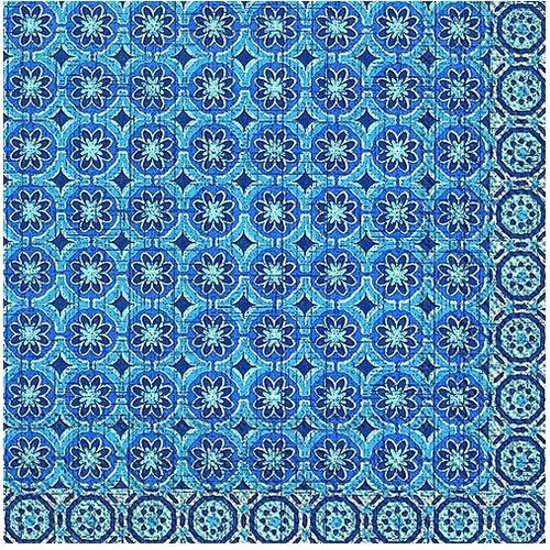 Marrakesch Blue Lunch Napkins