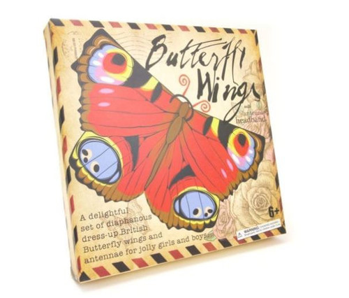 Boxed Butterfly Wings & Headband