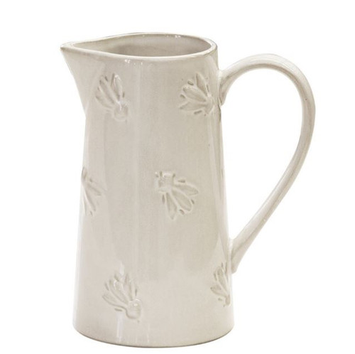 White Abeille Jug