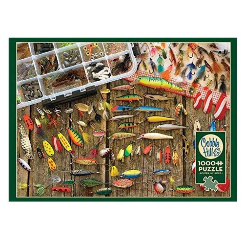 Fishing Lures 1000 Piece Puzzle