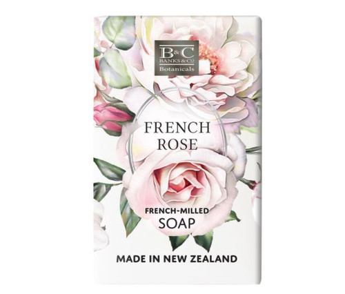 Banks & Co French Rose Luxury Soap 200gm